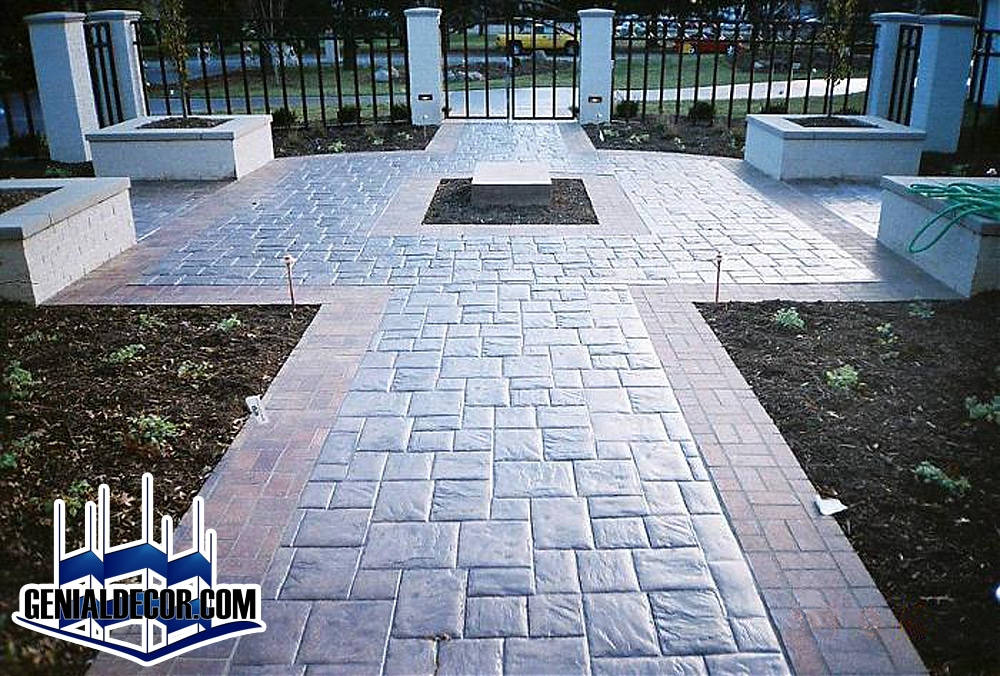 Patio genialdecor for Decoracion de pisos exteriores