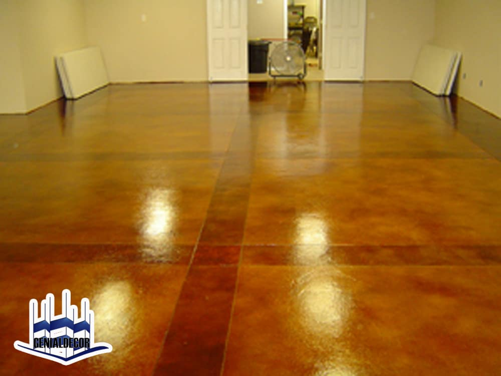 Porque decorar con concreto genialdecor - How to finish concrete floors interior ...